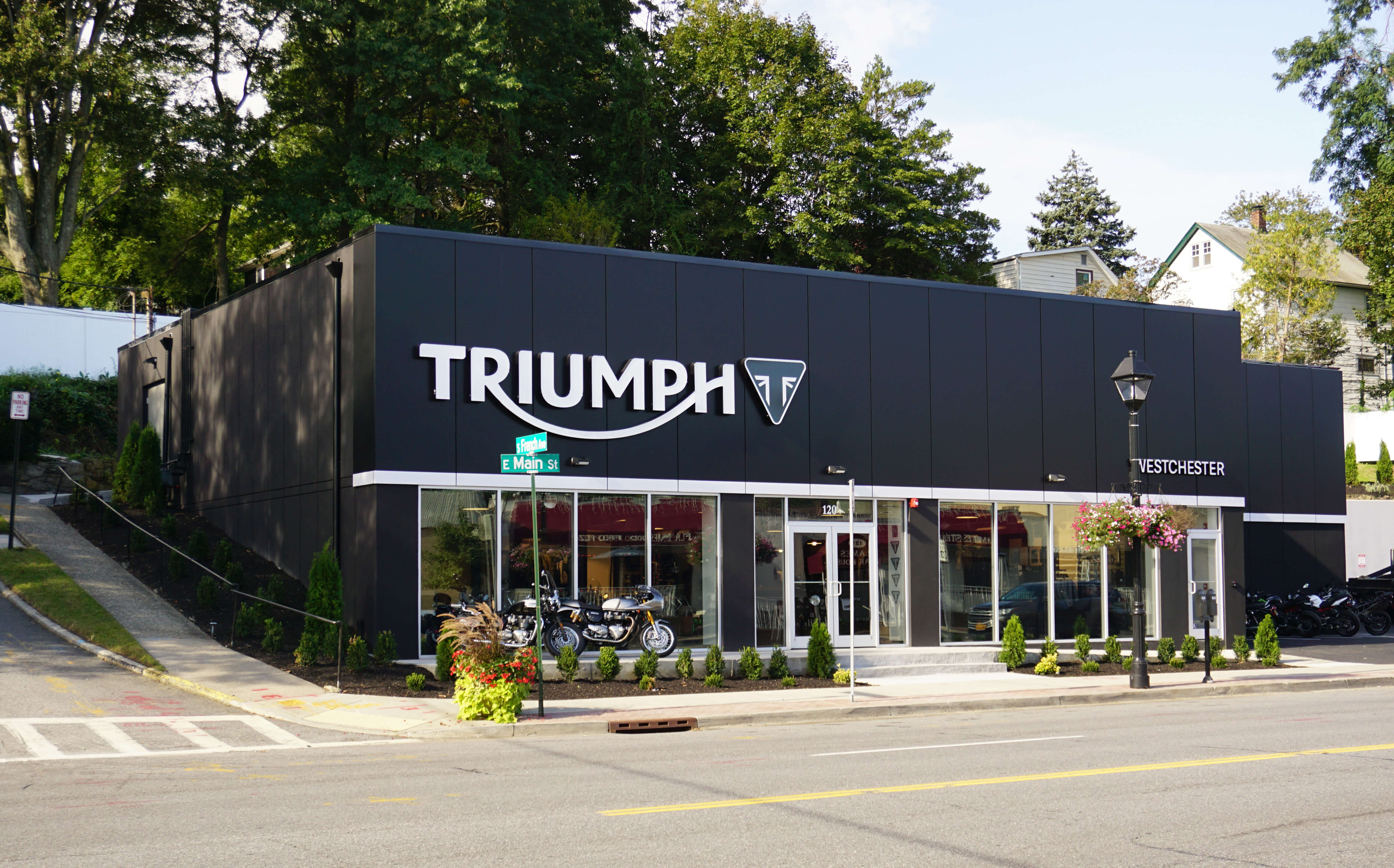 Triumph Motor Cycle Showroom, Elmsford NY