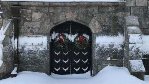 STB-SAINT EPISCOPAL BARNABAS CHURCH - LET IT SNOW!
