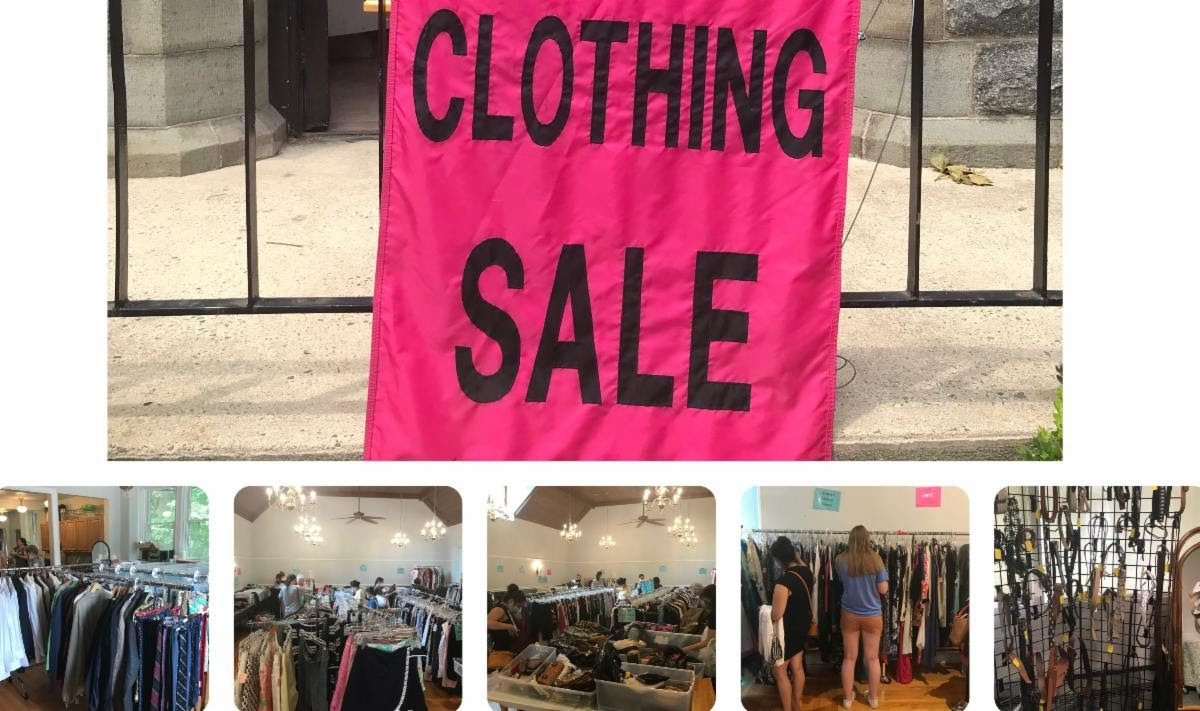Clothing Sale - From Pre-Loved to Re-Loved